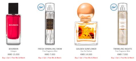 Bath & Body Fragrances
