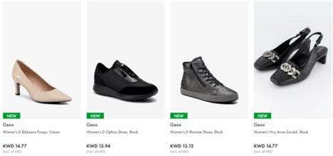Brands for Less Shoes