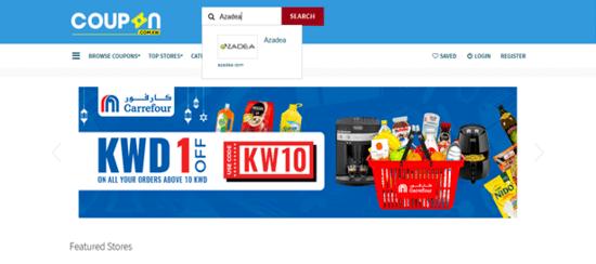 Search Azadea Store