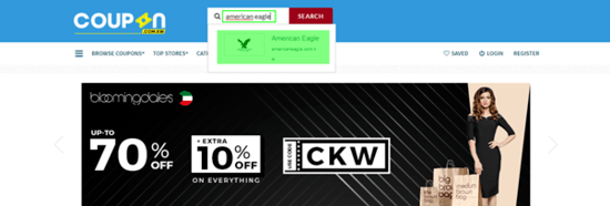 American Eagle Coupon KW