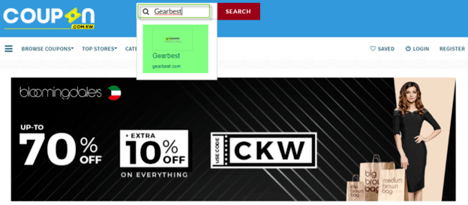 Gearbest Coupon.kw