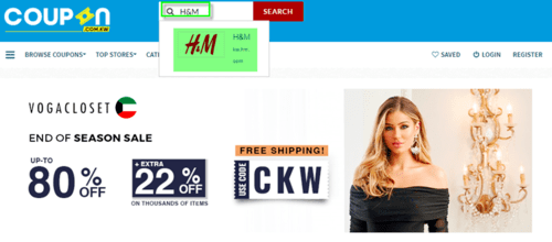 H&M Coupon.kw