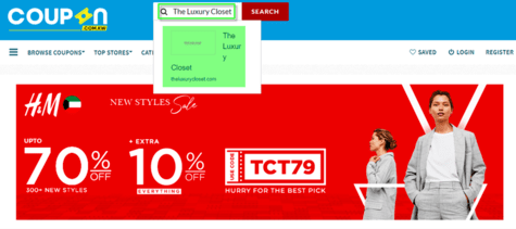 Luxury Closet Coupon.kw