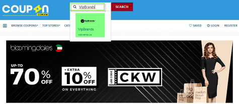 VipBrands Coupon.kw