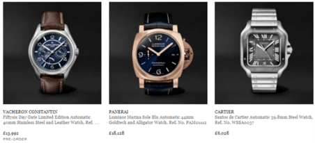 Mr Porter Watches