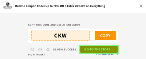 Ontime Coupon