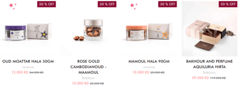 Oud Milano Offers