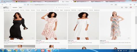 Styli Dresses