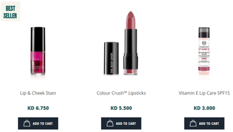 The Body Shop Lips