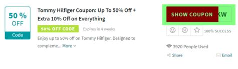 Tommy Hilfiger Code