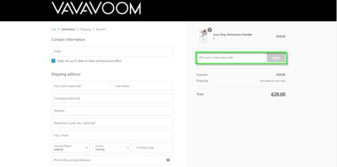 VaVaVoom Discount